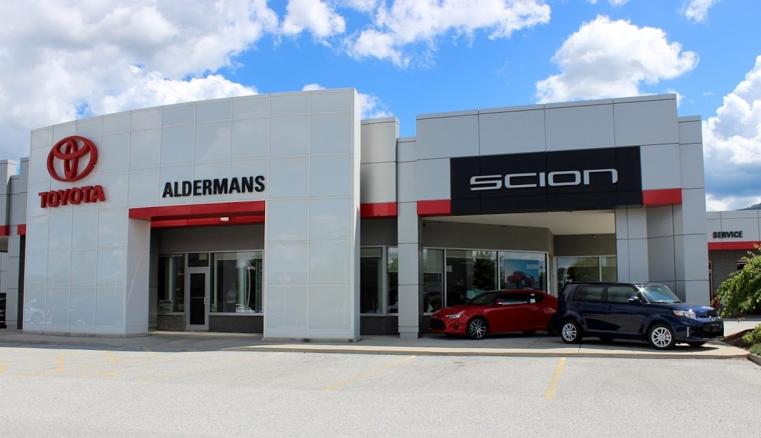 alderman 39 s toyota vermont 39 s toyota dealership. Black Bedroom Furniture Sets. Home Design Ideas