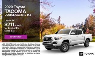 2020 Toyota Tacoma Double Cab SR5 4x4