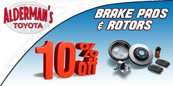SAVE 10% on Brake Pads & Rotors!