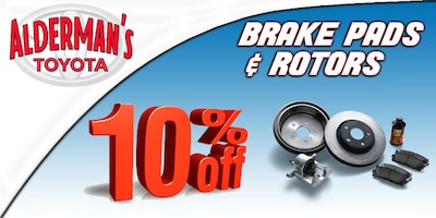 SAVE 10% on Brake Pads & Rotors!