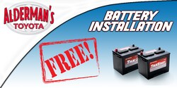 FREE Battery Installation