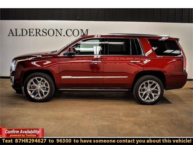 Certified Pre-Owned 2017 CADILLAC Escalade Premium Luxury SUV For Sale Lubbock, Texas