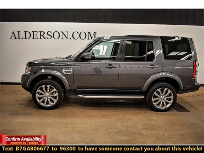 Pre-Owned 2016 Land Rover LR4 SUV For Sale Lubbock, TX