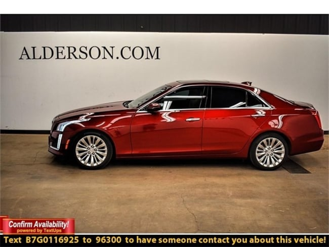 Certified Pre-Owned 2016 CADILLAC CTS 2.0L Turbo Luxury Collection Sedan For Sale Lubbock, Texas