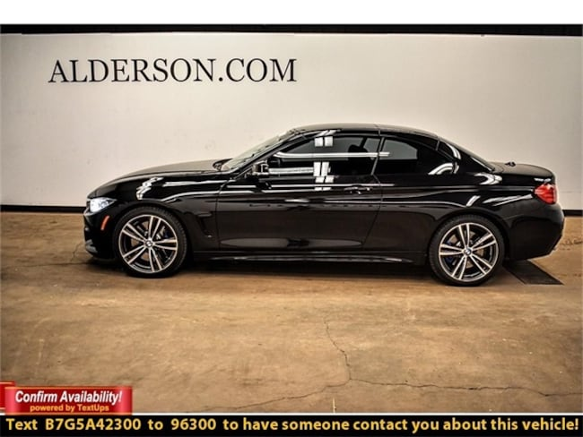 Bmw 435i For Sale >> Certified Pre Owned 2016 Bmw For Sale Lubbock Tx Vin