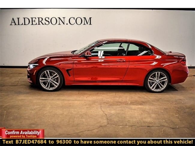 Used 2018 BMW 4 Series 440i xDrive Convertible Lubbock, TX