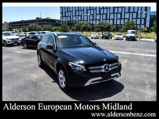 Certified 2018 Mercedes-Benz GLC 300 SUV for Sale in Midland, TX