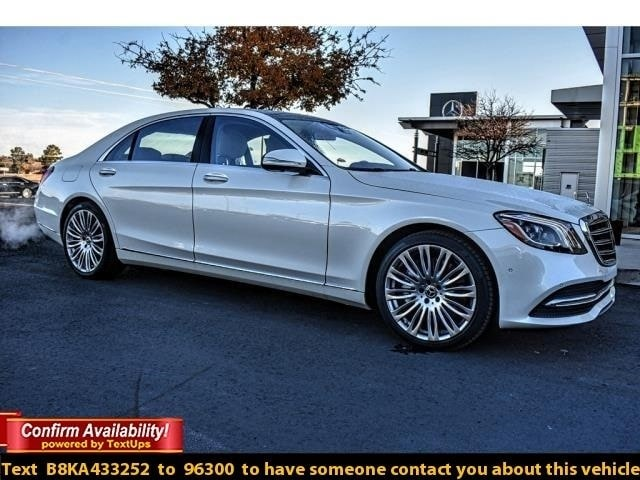 New 2019 Mercedes Benz S Class For Sale In Midland Tx Vin Wddug6gb6ka433252