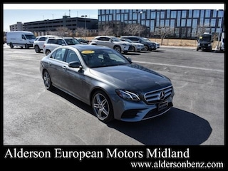 Certified 2019 Mercedes-Benz E-Class E 450 4MATIC Sedan for Sale in Midland, TX
