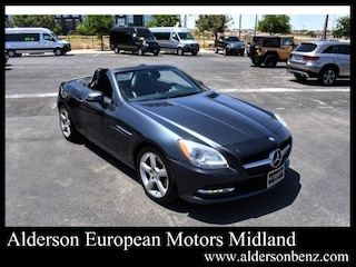 Used 2015 Mercedes-Benz SLK 250 Roadster for Sale in Midland, TX