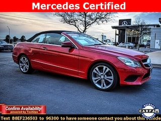 Certified 2014 Mercedes-Benz E-Class E 350 Cabriolet for Sale in Midland, TX