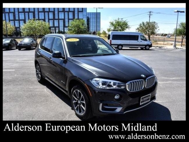 Used 2018 BMW X5 sDrive35i SAV For Sale Midland, TX