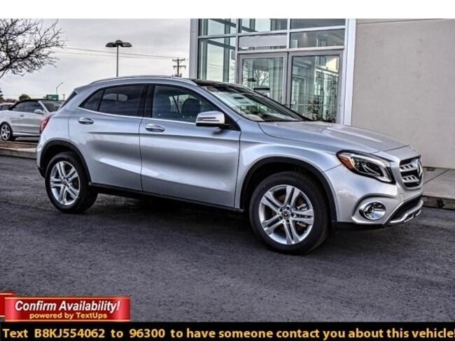 New 2019 Mercedes-Benz GLA 250 SUV For Sale Midland, TX