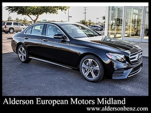 Featured new 2020 Mercedes-Benz E-Class E 350 Sedan for sale in Midland, TX