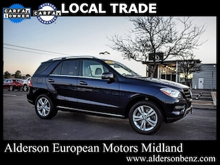 Used 2013 Mercedes-Benz M-Class ML 350 SUV for Sale in Midland, TX