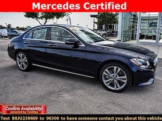 Certified 2018 Mercedes-Benz C-Class C 300 Sedan for Sale in Midland, TX