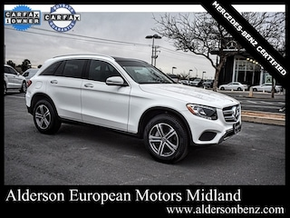 Certified 2019 Mercedes-Benz GLC 300 SUV for Sale in Midland, TX