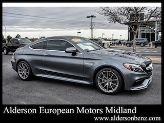 Used 2018 Mercedes-Benz AMG C 63 Coupe for Sale in Midland TX