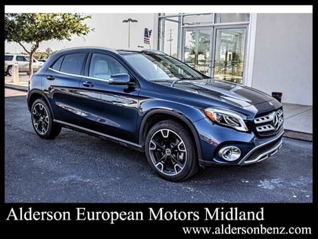 Used 2019 Mercedes-Benz GLA 250 SUV For Sale Midland, TX