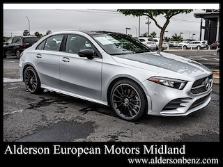 New 2020 Mercedes-Benz A-Class A 220 Sedan for Sale in Midland TX