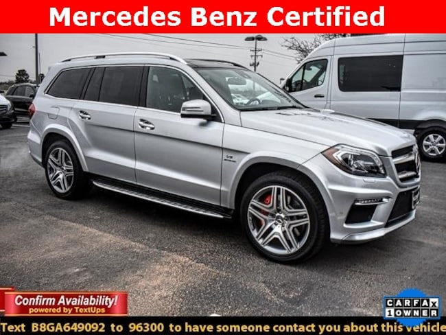 Certified Pre-Owned 2016 Mercedes-Benz AMG GL 63 4MATIC SUV For Sale Midland, Texas