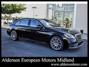 Featured new 2020 Mercedes-Benz S-Class S 560 Sedan for sale in Midland, TX
