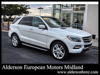 Used 2014 Mercedes-Benz M-Class ML 350 SUV for Sale in Midland, TX