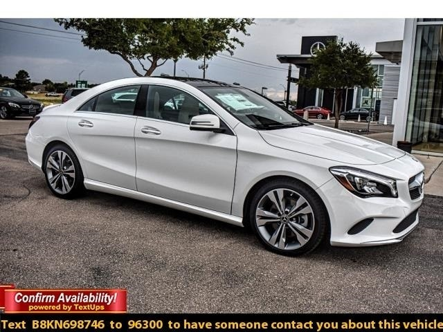New 2019 Mercedes Benz CLA 250 For Sale In Midland TX | VIN#  WDDSJ4EB6KN698746