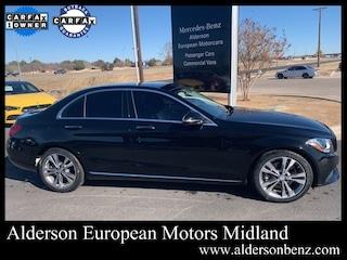 Certified 2016 Mercedes-Benz C-Class C 300 Sedan for Sale in Midland, TX