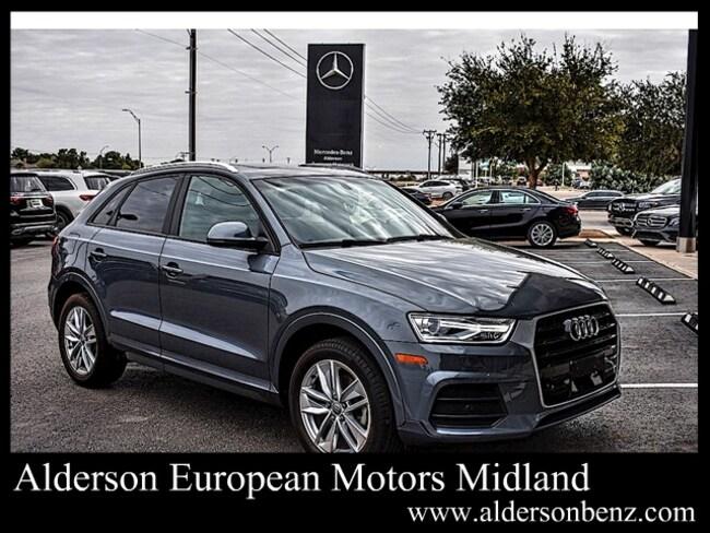Used 2017 Audi Q3 2.0T Premium SUV For Sale Midland, TX