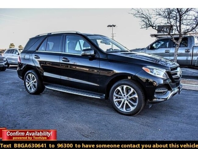 Certified Pre-Owned 2016 Mercedes-Benz GLE 350 SUV For Sale Midland, Texas