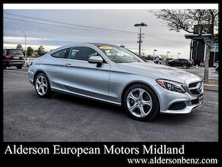 Used 2017 Mercedes-Benz C-Class C 300 Coupe for Sale in Midland, TX