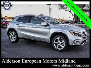 Certified 2018 Mercedes-Benz GLA 250 SUV for Sale in Midland, TX