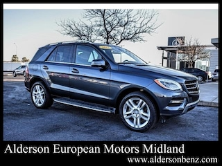 Used 2015 Mercedes-Benz M-Class ML 350 4MATIC SUV for Sale in Midland, TX