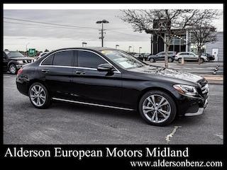 Used 2016 Mercedes-Benz C-Class C 300 Sedan for Sale in Midland TX
