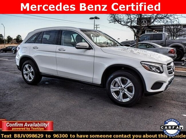 Certified Pre-Owned 2018 Mercedes-Benz GLC 300 SUV For Sale Midland, Texas