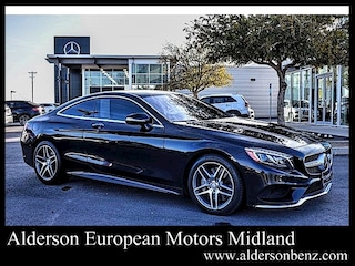 Certified 2015 Mercedes-Benz S-Class S 550 4MATIC Coupe for Sale in Midland, TX
