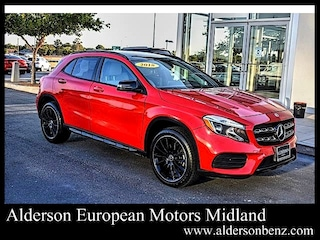 Certified 2018 Mercedes-Benz GLA 250 4MATIC SUV for Sale in Midland, TX