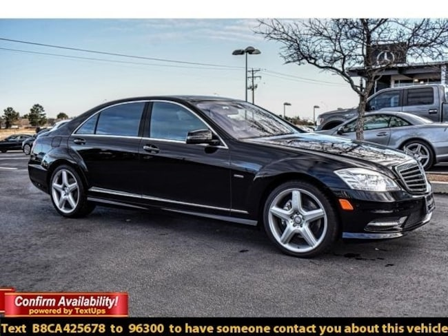 Used 2012 Mercedes-Benz S-Class S 550 Sedan For Sale Midland, TX