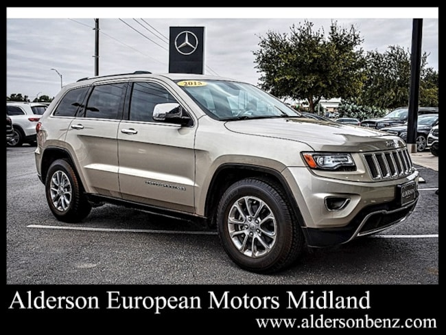 Used 2015 Jeep Grand Cherokee Limited 4x2 SUV For Sale Midland, TX