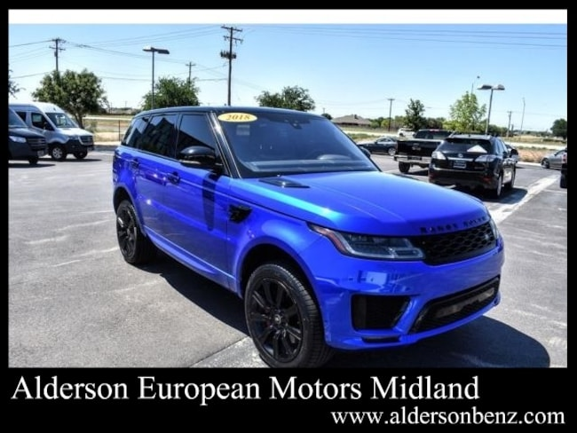 Used 2018 Land Rover Range Rover Sport Autobiography SUV For Sale Midland, TX