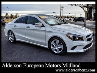 Used 2017 Mercedes-Benz CLA 250 Coupe for Sale in Midland TX