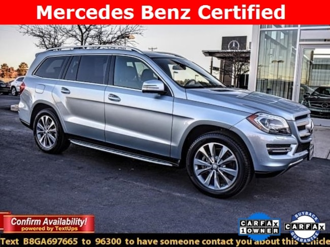Certified Pre-Owned 2016 Mercedes-Benz GL-Class GL 450 4MATIC SUV For Sale Midland, Texas