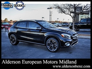 Certified 2019 Mercedes-Benz GLA 250 SUV for Sale in Midland, TX