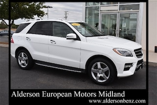 Used 2014 Mercedes-Benz M-Class ML 550 SUV for Sale in Midland, TX