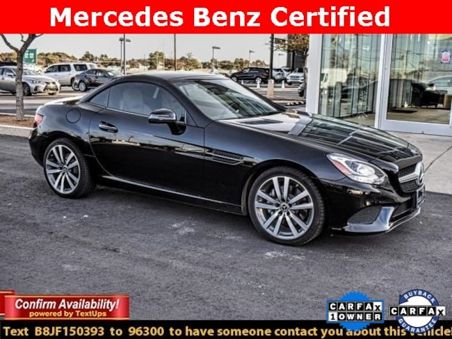 Certified Pre-Owned 2018 Mercedes-Benz SLC 300 Convertible For Sale Midland, Texas