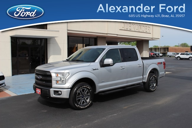 2015 Ford F-150 Supercrew 4WD Lariat Truck
