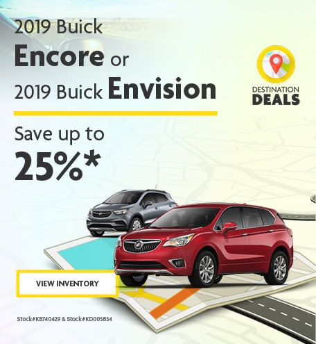 New 2019 Buick Encore and Envision 6/7/2019