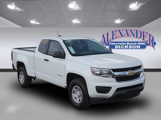 New 2020 Chevrolet Colorado WT Truck Extended Cab for sale in Dickson, TN
