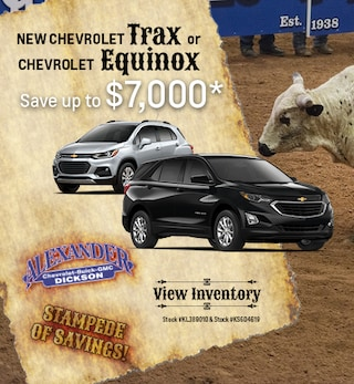 New 2019 Chevrolet Trax and Equinox 7/8/2019